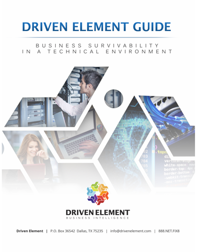 Driven Element IT Support PDF Guide
